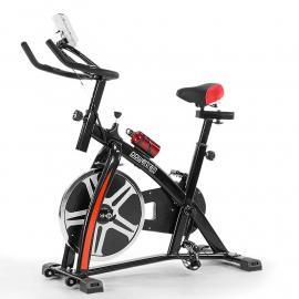 Powertrain Heavy Flywheel Exercise Spin Bike - Black