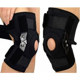 Knee brace with Compression Support Bandage Protector