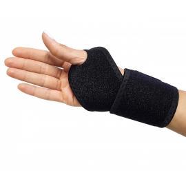 Wrist sports injury compression support