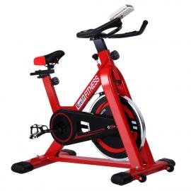 Spin Exercise Bike Cycling Fitness Home Workout Gym Red
