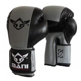 Gel Boxing Punch Mitts Gloves Punch Training Grey/Black
