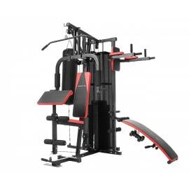 Multi-Station Home Gym with Punching Bag - 165lbs