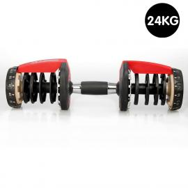 1x Powertrain Adjustable Home Gym Handle for 24kg Dumbbell only