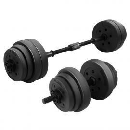 20kg Home Gym Dumbbell Barbell Set