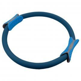 Powertrain Pilates Ring Band Yoga Home Workout Exercise Band Blue