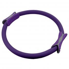 Powertrain Pilates Ring Band Yoga Home Workout Exercise Band Purple