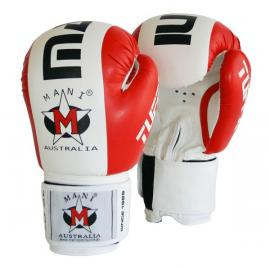 Tuffx Boxing  Punch Mitts Gloves Punch Sparring Training Red/White