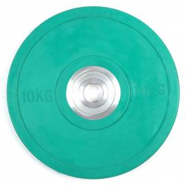 10KG PRO Olympic Rubber Bumper Weight Plate