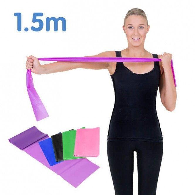 1.5m Powertrain Yoga Pilates resistance band