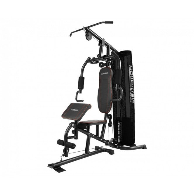 Powertrain MultiStation Home Gym - 45kg with Preacher Curls