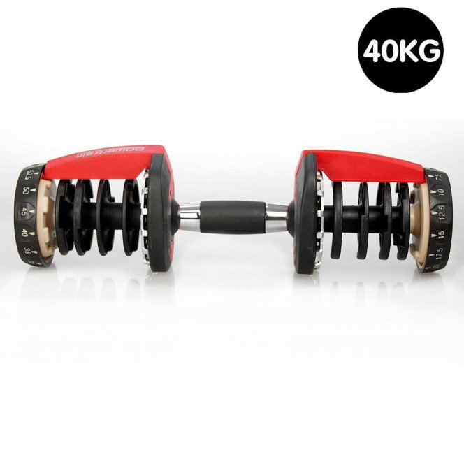 1x Powertrain Adjustable Home Gym Handle for 40kg Dumbbell only