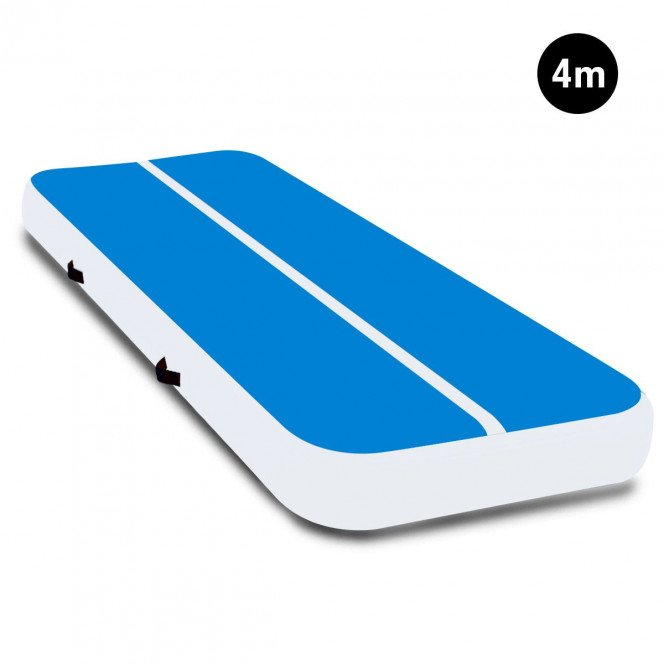 4m x 2m Powertrain Airtrack Tumbling Mat Gymnastics Exercise BUWH