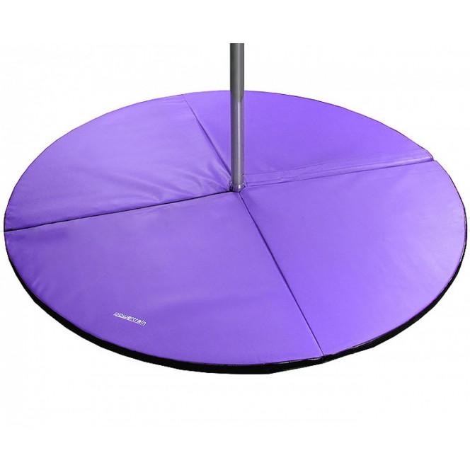 Powertrain Dance Pole Exercise Safety Crash Pad Mat Purple