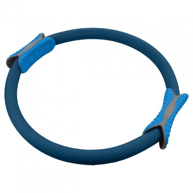Powertrain Pilates Ring Band Yoga Home Workout Exercise Band Blue