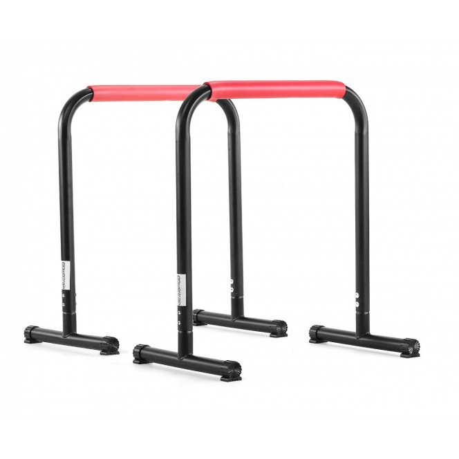 Powertrain Pair Dip Bar Parallette Stand Workout Station