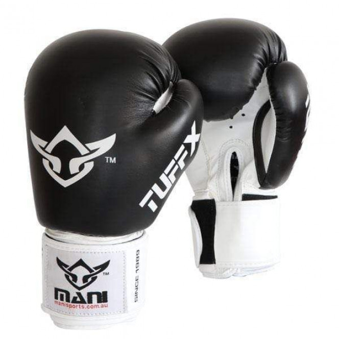 Tuffx Boxing Punch Mitts Gloves Punch Sparring Training Black/White