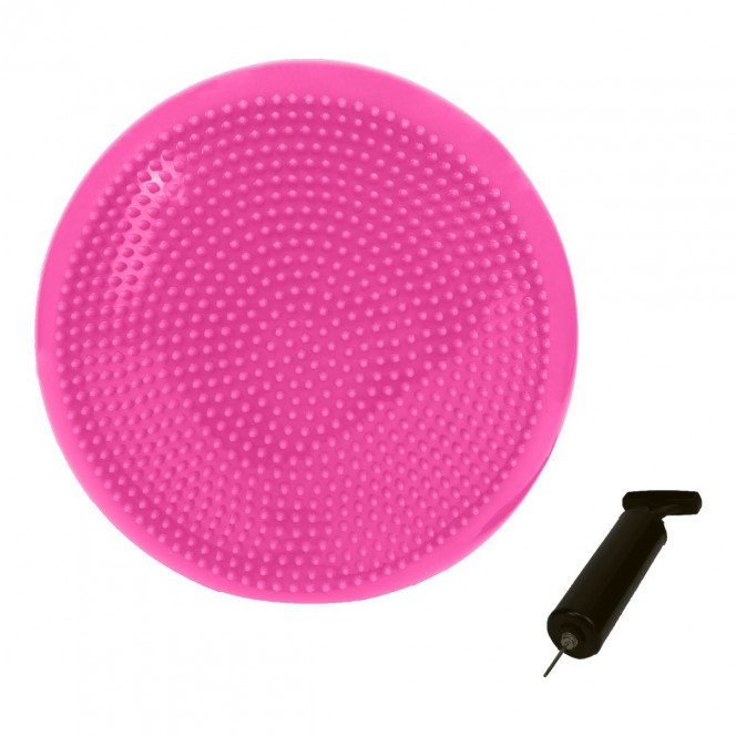 Powertrain Yoga Stability Disc Home Gym Pilate Balance Trainer Pink